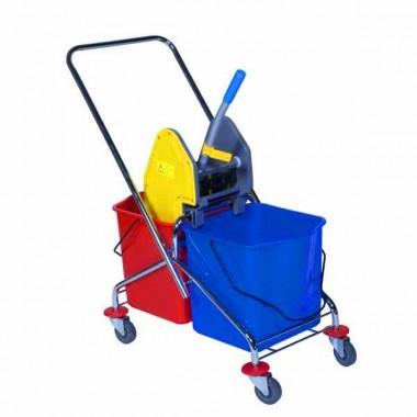 chariot de ménage double seau - espace equipement