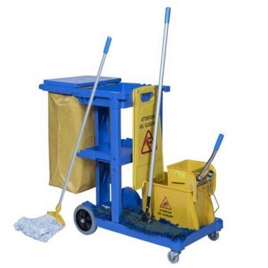 Chariot De Ménage Clean Pack - Espace Equipement