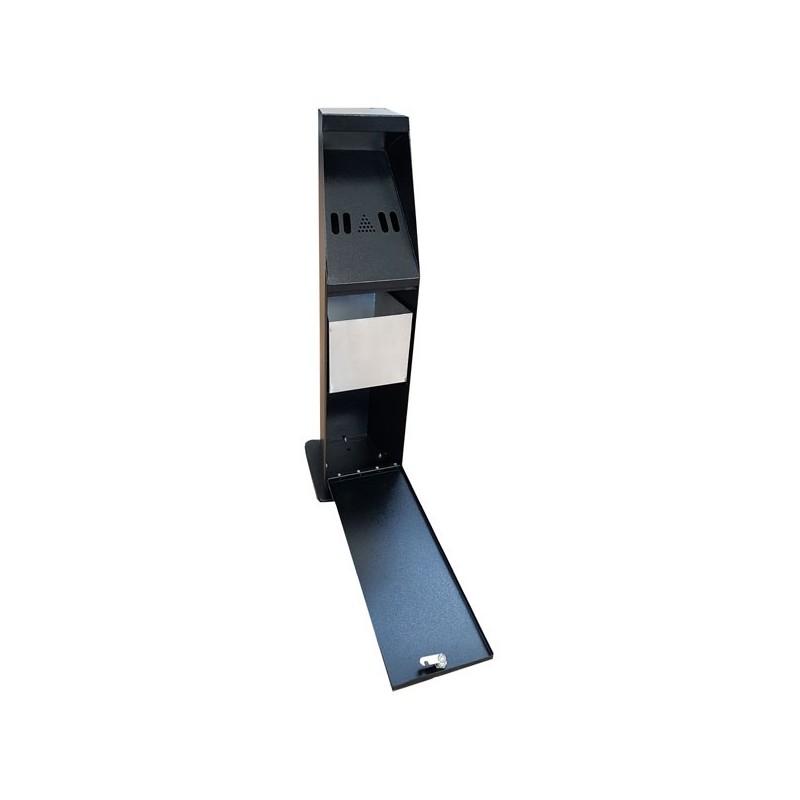 cendrier pilier d 39 ext rieur espace equipement. Black Bedroom Furniture Sets. Home Design Ideas