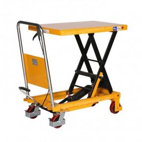 table elevatrice manuelle 300 kg vue de 3/4
