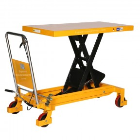 vue d'ensemble de la Table élévatrice manuelle 1500 kg