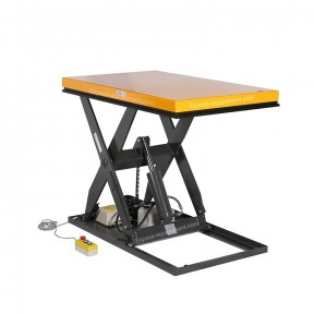 Table élévatrice électrique 1000 kg plateau 1300 x 800 mm 220 Volts position haute