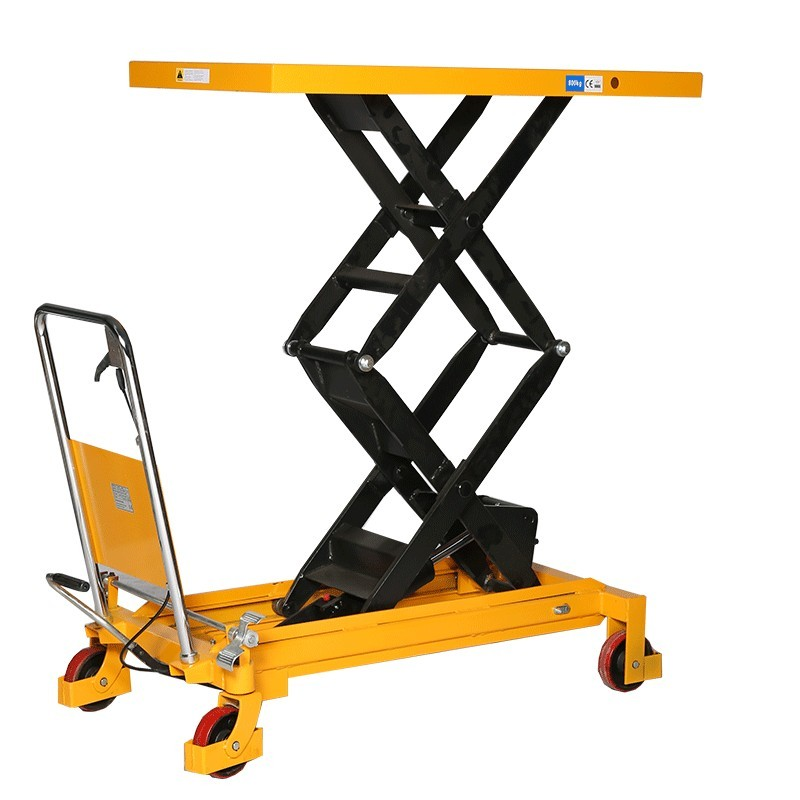 Table l vatrice double ciseaux 800kg espace equipement for Table elevatrice a ciseaux