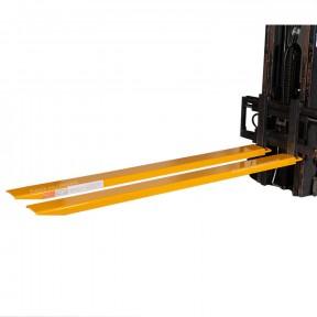 Rallonges de fourches longueur 2435 mm  pour chariot élévateur