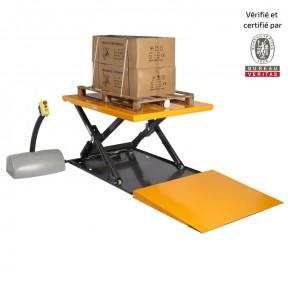 table élévatrice extraplate 1 tonne