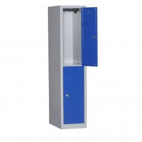 Vestiaire bi places 2 cases L40cm