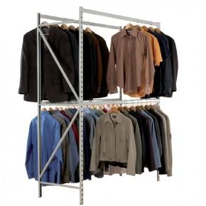 Rayonnage vêtements 150kg
