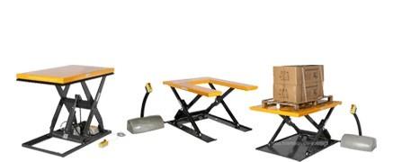 Table élévatrice électrique